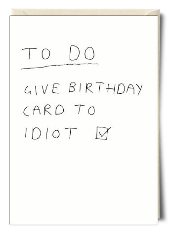 To do... - Card by Redback Cards                                                                                                                                                                                 More
