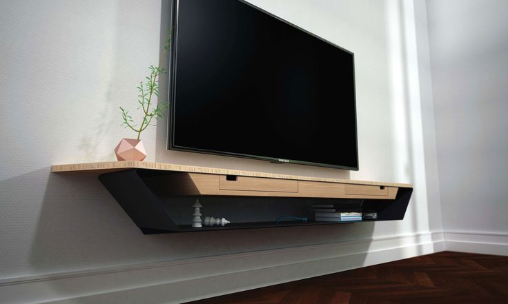 Meuble Tv Blanc Suspendu Alinea : Pin Meuble Tv Design Suspendu Larmo New On Pinterest