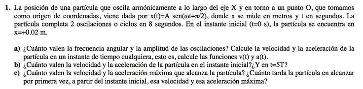 Ejercicio de Movimiento Ondulatorio propuesto en el examen PAU de Canarias de 2012-2013, Junio, Opción B.
