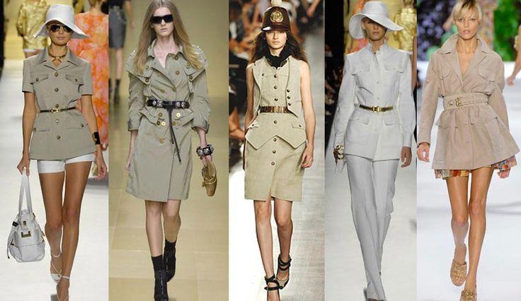 стиль сафари в женской одежды - Поиск в Google
