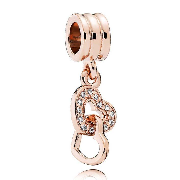 PANDORA Rose Sparkling Hearts Complete Bracelet CB651   The Jewel Hut