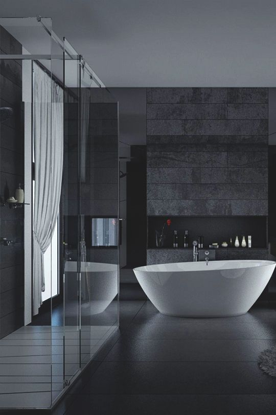 "livingpursuit: ""Bathroom Design by Blalank Visualization """