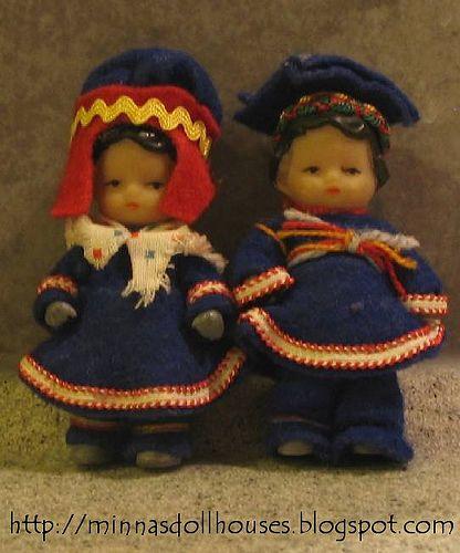 Ari dollhouse dolls