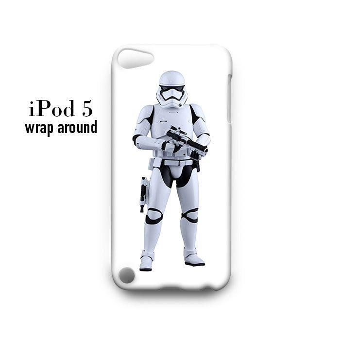 Starwars Stormtrooper Standing iPod Touch 5 Case Wrap Around