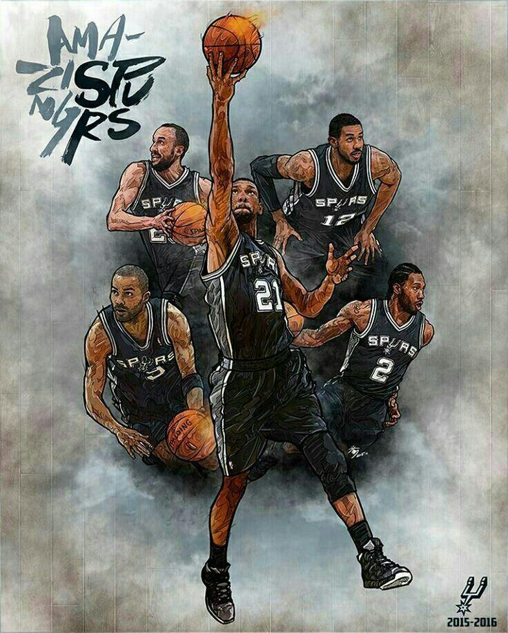 San Antonio Spurs Nba: 67 Best NBA: San Antonio Spurs Images On Pinterest