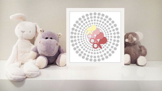 Dummy pacifier printable nursery art instant by MonsterTots