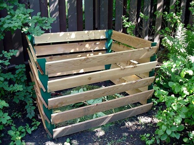Wood Pallets Compost Bin | Creative Homemade Compost Bins You Can DIY On A Budget