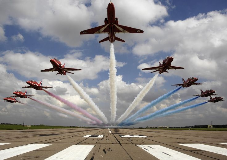 Red Arrows Starburst