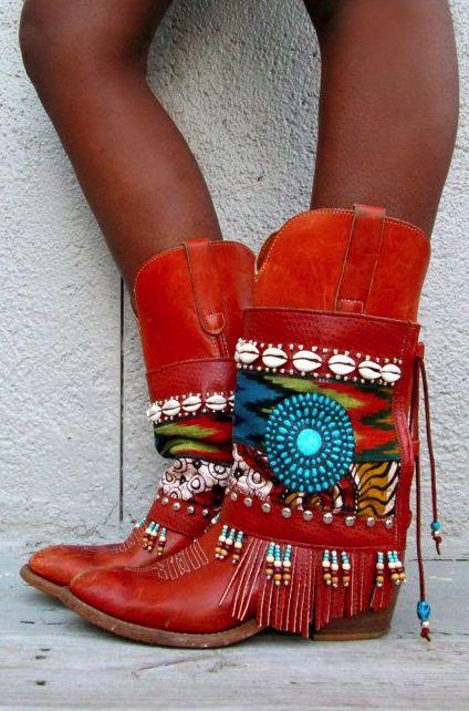 Boho boots                                                                                                                                                                                 Más