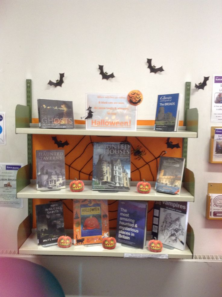 Halloween display I have just done at the library I work at :-)