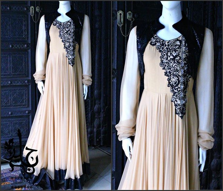 Latest Party Wear Frocks & Gowns Collection 2015-2016 | StylesGap.com