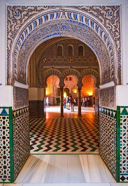 Portal, Alcázar, Sevilla Spain  http://www.costatropicalevents.com/en/costa-tropical-events/andalusia/cities/seville.html