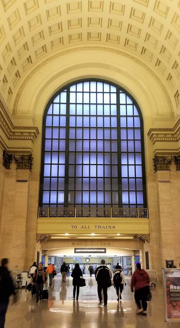 Chicago Union Station La To Dc By Train In A Sleeper Sights And Stops Along The Way Scenic Views American Landmarks Scenic