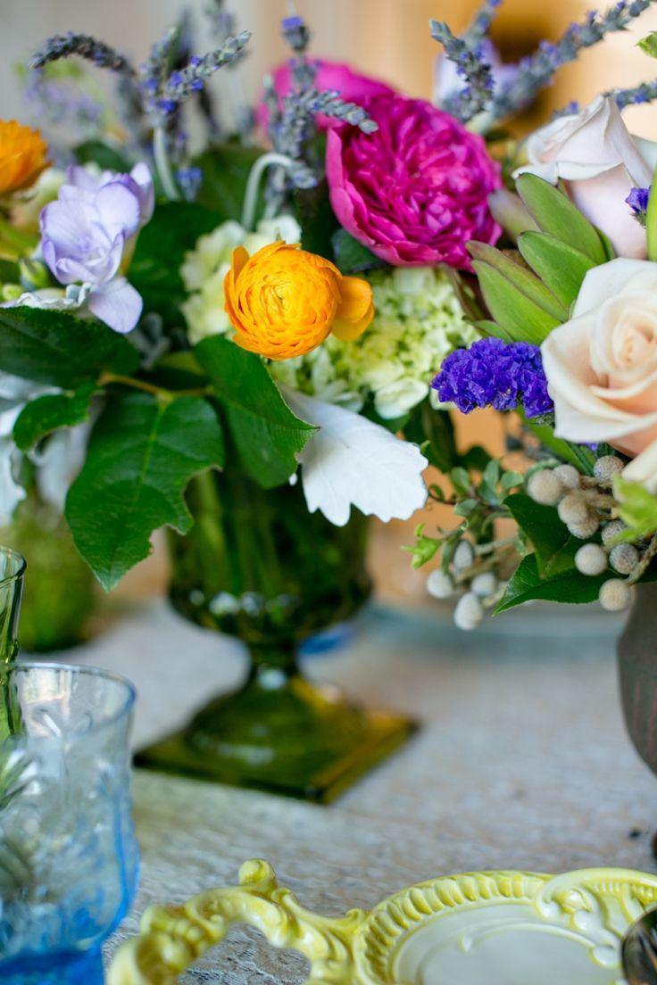 Eclectic Jewel Toned Wedding Inspiration