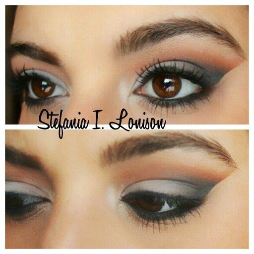 Gray out Smokey eye