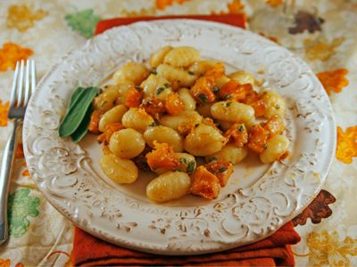 Roasted Butternut Squash and Sage Gnocchi | Recipe | Roasted Butternut ...