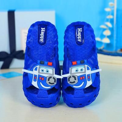 2019 New Kids Sandals Summer Slippers Boys Girls Beach Shoes New Fashion Cartoon Garden Shoes Home Bath Shoes Casual Non-slip