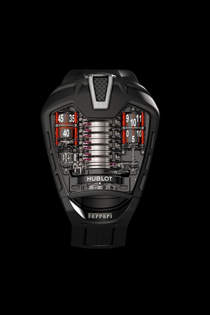 Hublot to Make Fewer MP-05 LaFerrari Timepieces than FerrariLaFerraris