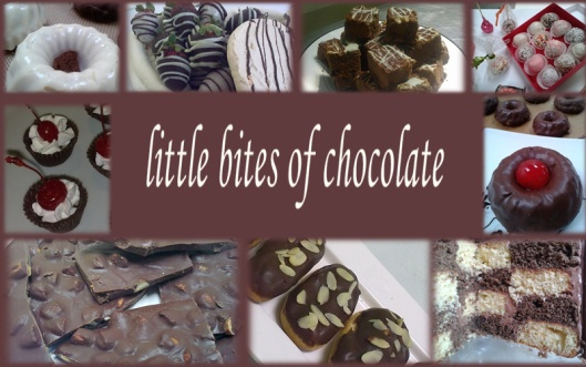 Little bites of chocolate...