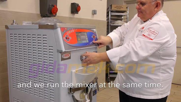 Trittico Executive Evo Krema Pastörizasyon Makinesi - Bavyera Kreması - Bavarian Cream