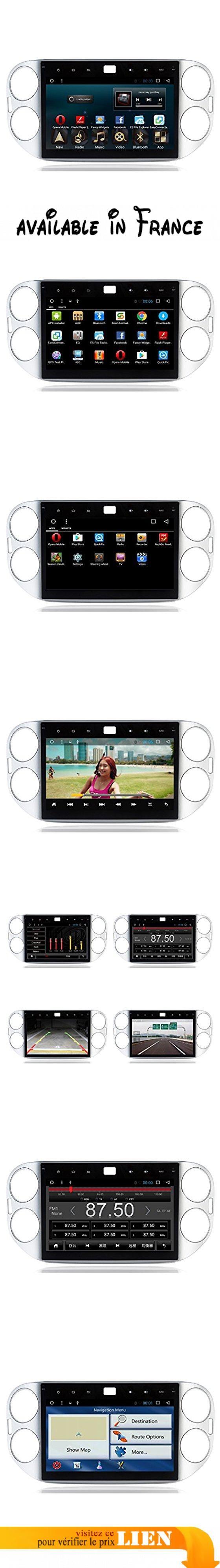 10,1 pouces 1024 * 600 Android 6.0 Unité stéréo voiture avec carte GPS Navigation Sat Nav HD écran tactile Lecteur vidéo / récepteur audio pour VW Tiguan 2013 ( Couleur : UI-1 ). CPU: R16 A7 QuadCore Fréquence principale 1.6Ghz, RAM: DDR3 1GB, Mémoire: Built-in Disque dur: 16GB. 4G Internet Surfing: prise en charge de la carte réseau 4G ou du point de téléphone sans fil du téléphone cellulaire. WIFI Internet Surfing: WIFI intégré, supportant la navigation sur