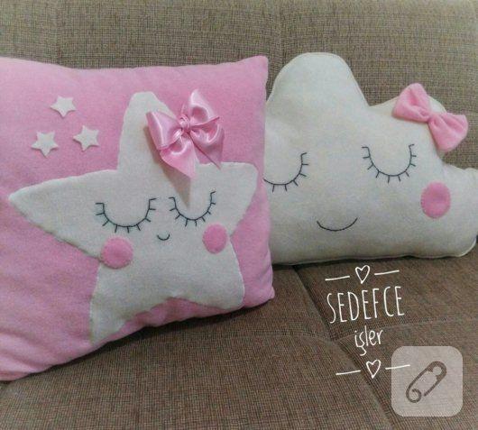 Polardan yıldız yastık özellikle çocuk odası süsleme fikirleri arayanlara göre. dekoratif kırlentler, en yaratıcı yastık modelleri, dikiş önerileri ve dikiş videoları...