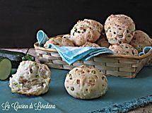 Panini con zucchine e prosciutto cotto - Soffici e leggeri