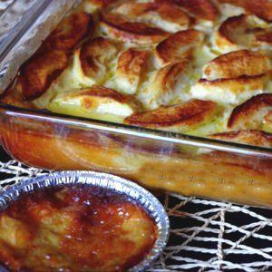 far breton au caramel beurre salé et pommes