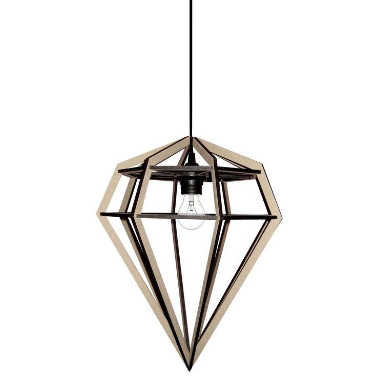 Döden lampa L, natur – Tvåfota Design – Köp online på Rum21.se