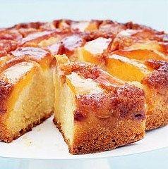 Şeftalili kek | ikramlar