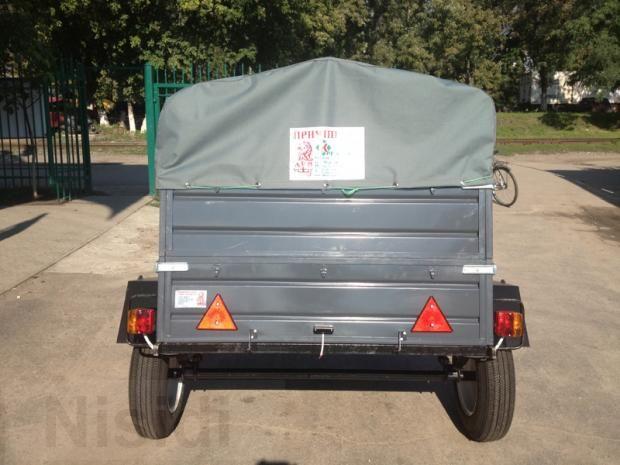 Продам новый легковой прицеп ЛЕВ - 13 грузовой 1-о осный. - Изображение 1