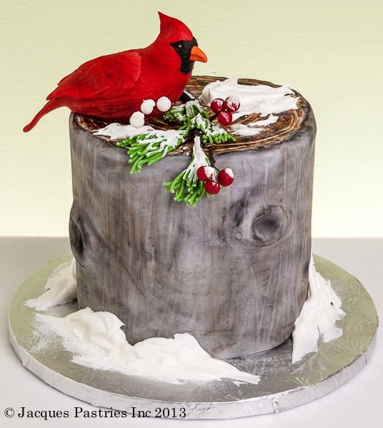 Cardinal Cake Images : 1000+ images about Cake ideas on Pinterest