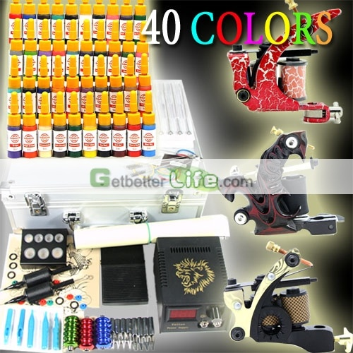 3 guns professional tattoo kits on sale,more inks and more tattoo guns,better performance. [WS-K801]US$49.99 : getbetterlife.com