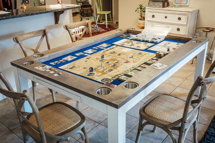 Custom Board Game Tables Based In Calgary Alberta Canada In 2020