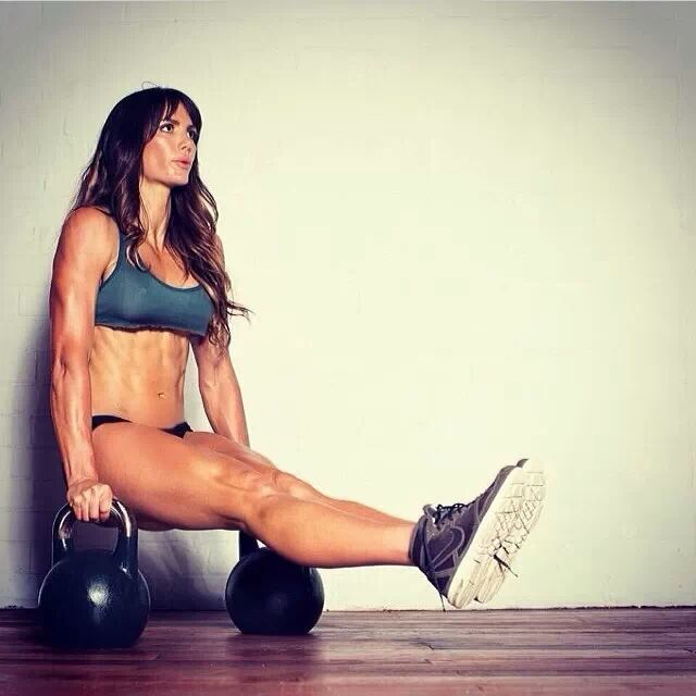 Real girls work out ...