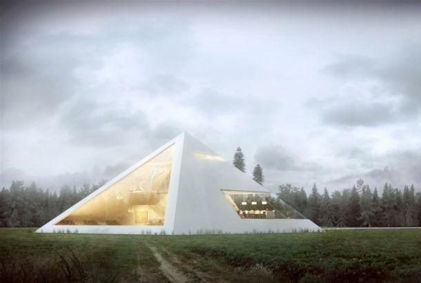 ピラミッド型の住宅が快適か、試しに設計してみた | roomie(ルーミー)