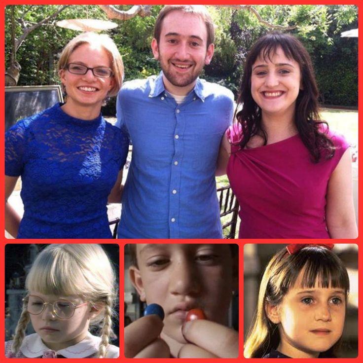 9 Cast Reunions Then And Now: Matilda Cast Reunion