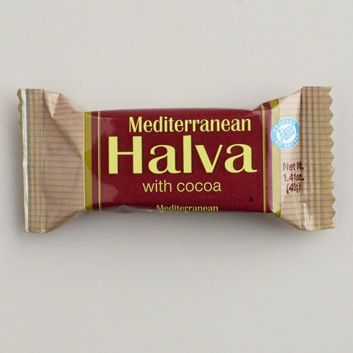 One of my favorite discoveries at WorldMarket.com: Mediterranean Halva Bar with Cocoa, Set of 16