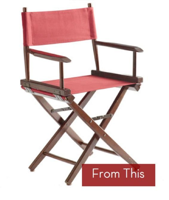 update the tall directors chair - Tall Directors Chair