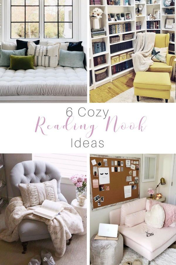 Enjoy Your Favorite Book In Your Reading Nook Small Room Bedroom