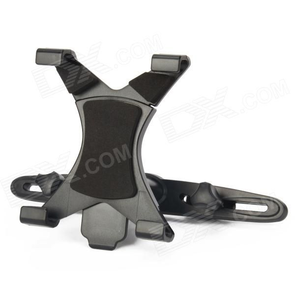 Brand: NO; Model: ZYZ-K110; Quantity: 1 Piece; Color: Black; Material: Plastic; Style: Car Mount; Adjustable Width:: 8~20cm; Adjustable Height:: 12~20cm; Rotation Degree: 360 degree; Other Features: Suitable for Ipad Series / Galaxy Tab 10.1 and the other 7 ~ 11-inch Tablet PC retractable structure can facilitate quick removal and installation. 360 rotation With shock absorption mat; Packing List: 1 x Headrest Hoder1 x Retractable Backclip; http://j.mp/1q1mZaH