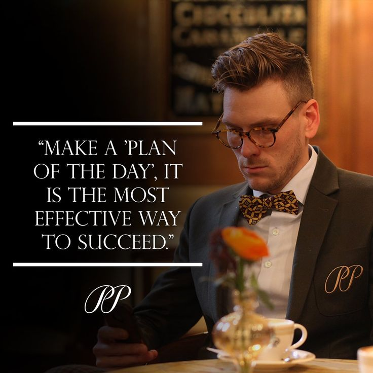 "PIETER PETROS || QUOTES || ""Plan of the Day"" helps make your day productive.  #PPquotes #FridayFeeling #PIETERPETROS"
