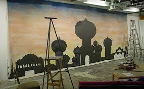 Set Design for Aladdin Jr.                                                                                                                                                                                 More