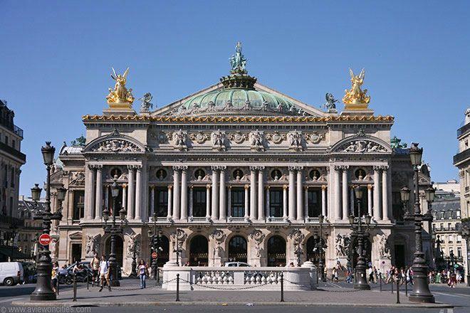 Now known as the Palais Garnier, this opulent building in Second Empire baroque style was constructed between 1862 and 1875 as one of the grandest opera houses ever built.