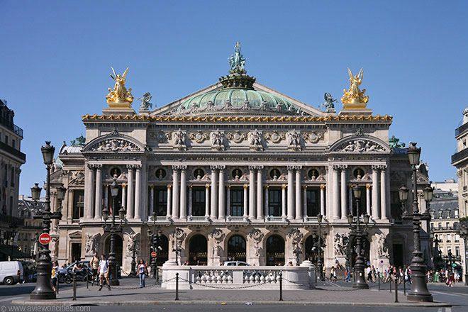 L'Opéra Garnier - http://blog.feel-like-ohm.com/paris-musees-et-monuments/opera-garnier/