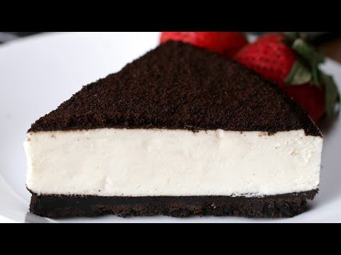 No-Bake Cookies & Cream Cheesecake - YouTube