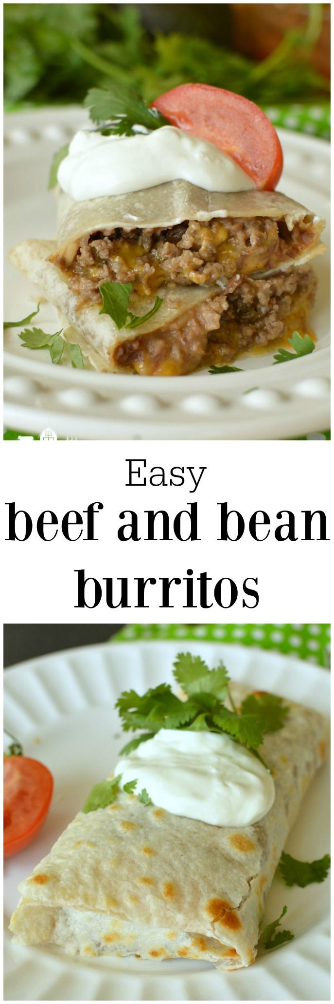 Easy Beef Burritos one of my quickest recipes, thanks to the microwave ...