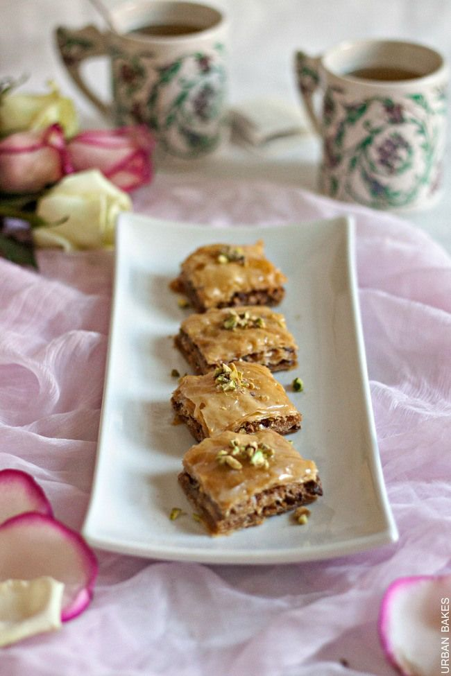 ... Baklava with Cardamom and Rose Water | Recipe | Mom, Posts and Rose