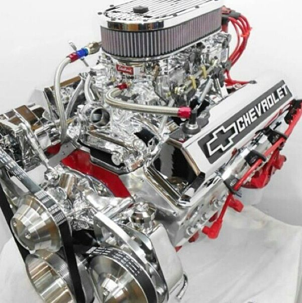 Chromed Out Engine Sweet Chromeengines Gmmuscle Hot