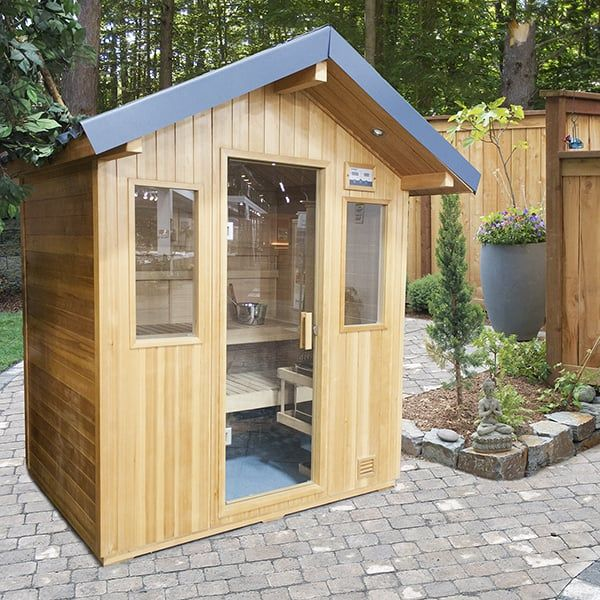 4 Person Outdoor Sauna from Family Leisure